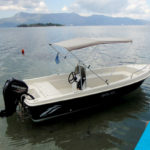 boat for rent corfu