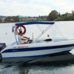 boat hire kommeno