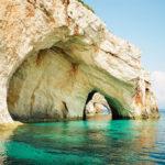 blue caves zante
