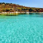 mirsini beach diaporos